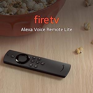 Alexa Voice Remote Lite   Requires compatible Fire TV device   2020 release
