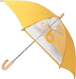 [コドモビームス] 長傘/窓つき bロゴ 傘 (40~50cm) キッズ