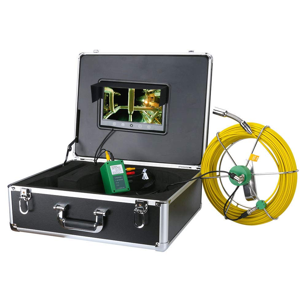 AMOCAM Pipe Chicago Mall Inspection Camera 40M 132ft Limited price Video Indust Drain Sewer