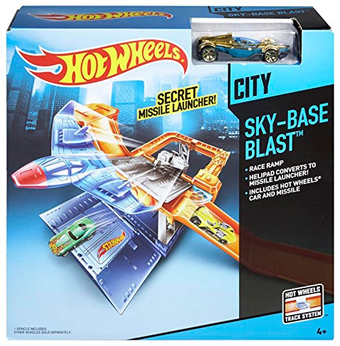 Mattel Hot Wheels Ready to Play Sky Base Blast