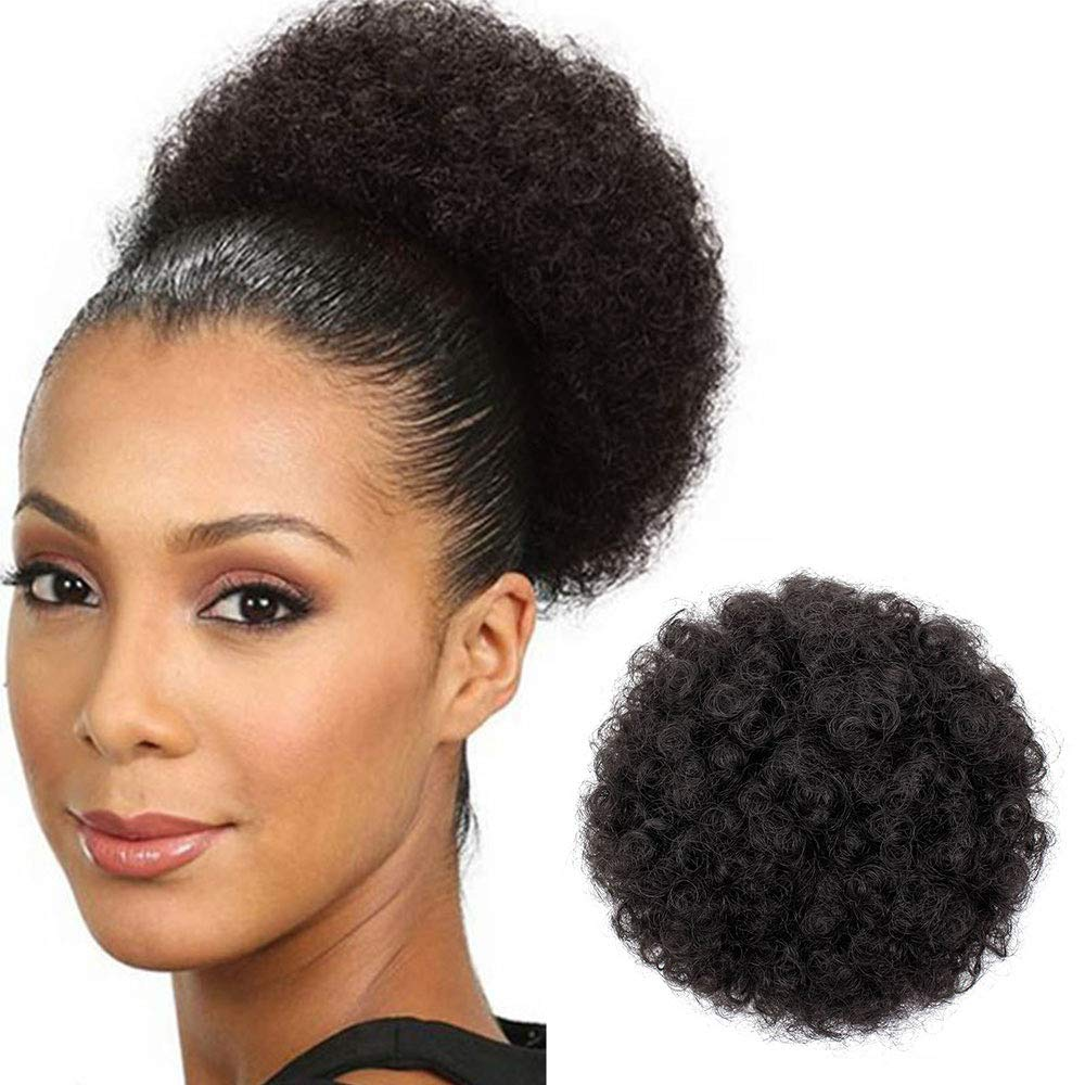 AISI QUEENS Afro Puff Drawstring Ponytail Women for Black Overseas Max 55% OFF parallel import regular item Curly