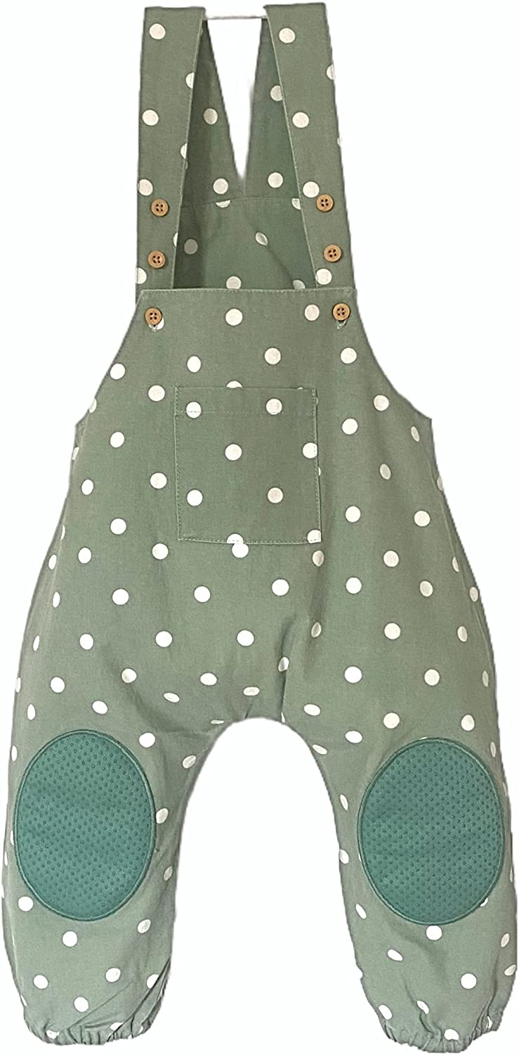Max 79% OFF Baby Crawling Anti-Slip famous Overall. Adjustable One 100% Size. Cotto