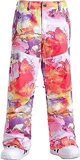 Women's Ski Pants Snow Pants Insulated Waterproof Snowboarding Ski Jacket Pants for Outdoor