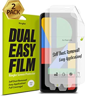 Ringke Dual Easy Film Compatible with Google Pixel 4 XL Screen Protector - 2 Pack
