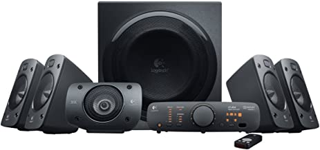 Logitech - Z906 - Sistema de Audio Surround Sound 5.1 -