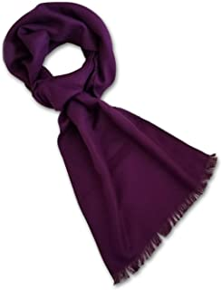 StrayKat Men's Viscose Cotton Everyday Soft Solid Scarf