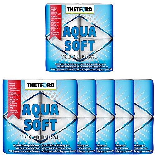 Thetford 6X Camping Toilettenpapier Aqua Soft