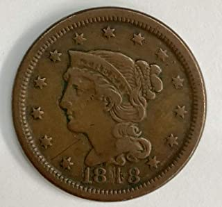 Best 1818 coronet head large cent Reviews