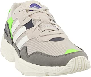 adidas Originals Yung-96 - Men's Clear Brown/Off White/Solar Green Nylon Running Shoes