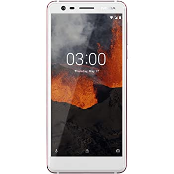 "Nokia 3.1 - Android 9.0 Pie - 16 GB - Dual SIM Unlocked Smartphone (AT&T/T-Mobile/MetroPCS/Cricket/Mint) - 5.2"" Screen - White - U.S. Warranty"