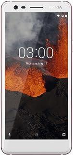 "Nokia 3.1 - Android 9.0 Pie - 16 GB - Dual SIM Unlocked Smartphone (AT&T/T-Mobile/MetroPCS/Cricket/Mint) - 5.2"" Screen - White - U.S. Warranty"