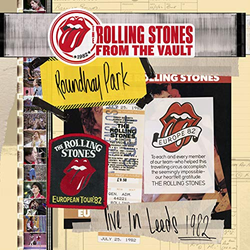 Rolling Stones-from The Vault-Live in Leeds 1982 [DVD + CD]