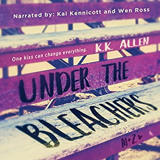 Under the Bleachers     A Novel              By:                                                                                                                                 K.K. Allen                               Narrated by:                                                                                                                                 Wen Ross,                                                                                        Kai Kennicott                      Length: 10 hrs and 23 mins     17 ratings     Overall 4.3