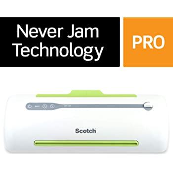 Scotch Brand Pro Thermal Laminator, Never Jam Technology Automatically Prevents Misfed Items, 2 Roller System (TL906), 9 in