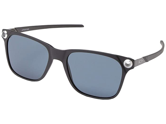 Oakley  55 mm Apparition (Satin Black with PRIZM Grey) Fashion Sunglasses