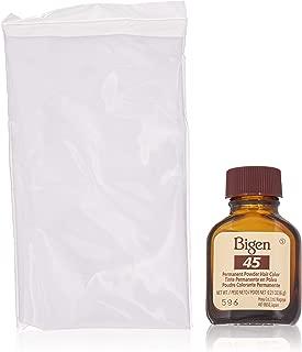 Bigen Permanent Powder Hair Color 45 Chocolate 1 ea (Pack of 4)