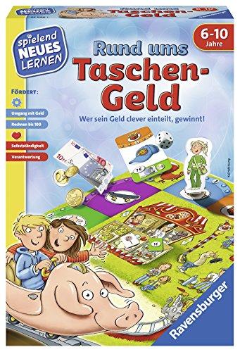 Ravensburger 24996 - Rund ums Taschengeld - Spielen und Lernen für Kinder, Lernspiel für Kinder ab 6-10 Jahren, Spielend Neues Lernen für 2-4 Spieler