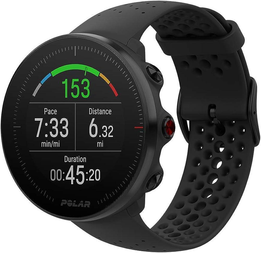 Polar  sportwatch per allenamenti multisport impermeabile con gps e cardiofrequenzimetro integrato, unisex 90069744