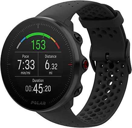 Polar Vantage M GPS li Koşu ve Multisport Saati Unisex, Siyah, M/L