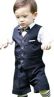 Eiza 男の子 フォーマル スーツ 5点セット 結婚式 発表会 子供 e303