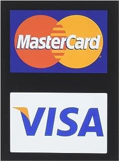 MasterCard/Visa Credit Card Decals (4 Pack)