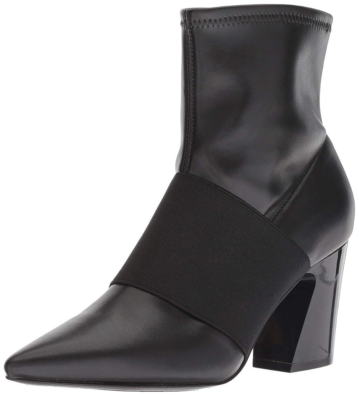 コンサート空白シャープ[ナインウエスト] Women's Delayna Synthetic Ankle Boot [並行輸入品]