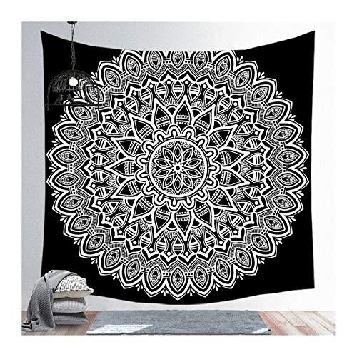 NGHSDO Tapiz Pared Tapices colgados de la Pared Grande Yoga Hippie tapices Tapiz Alfombra de la Estera Dormitorio de la Universidad Decoración Tapices De Pared (Color : 014, Size : 150x200cm)