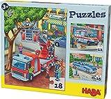 HABA-302759 Puzle de policía (302759)