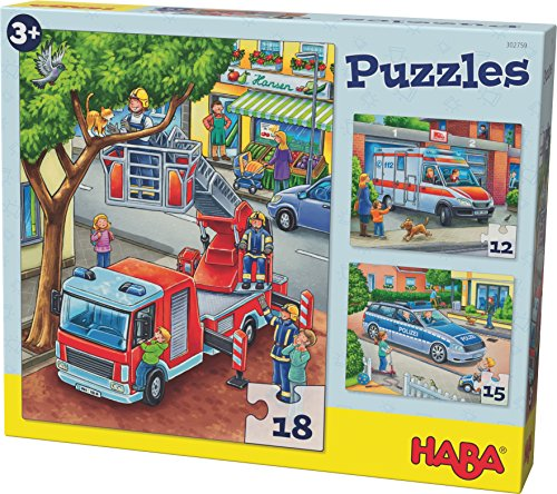 HABA 302759 Puzzle Polizei