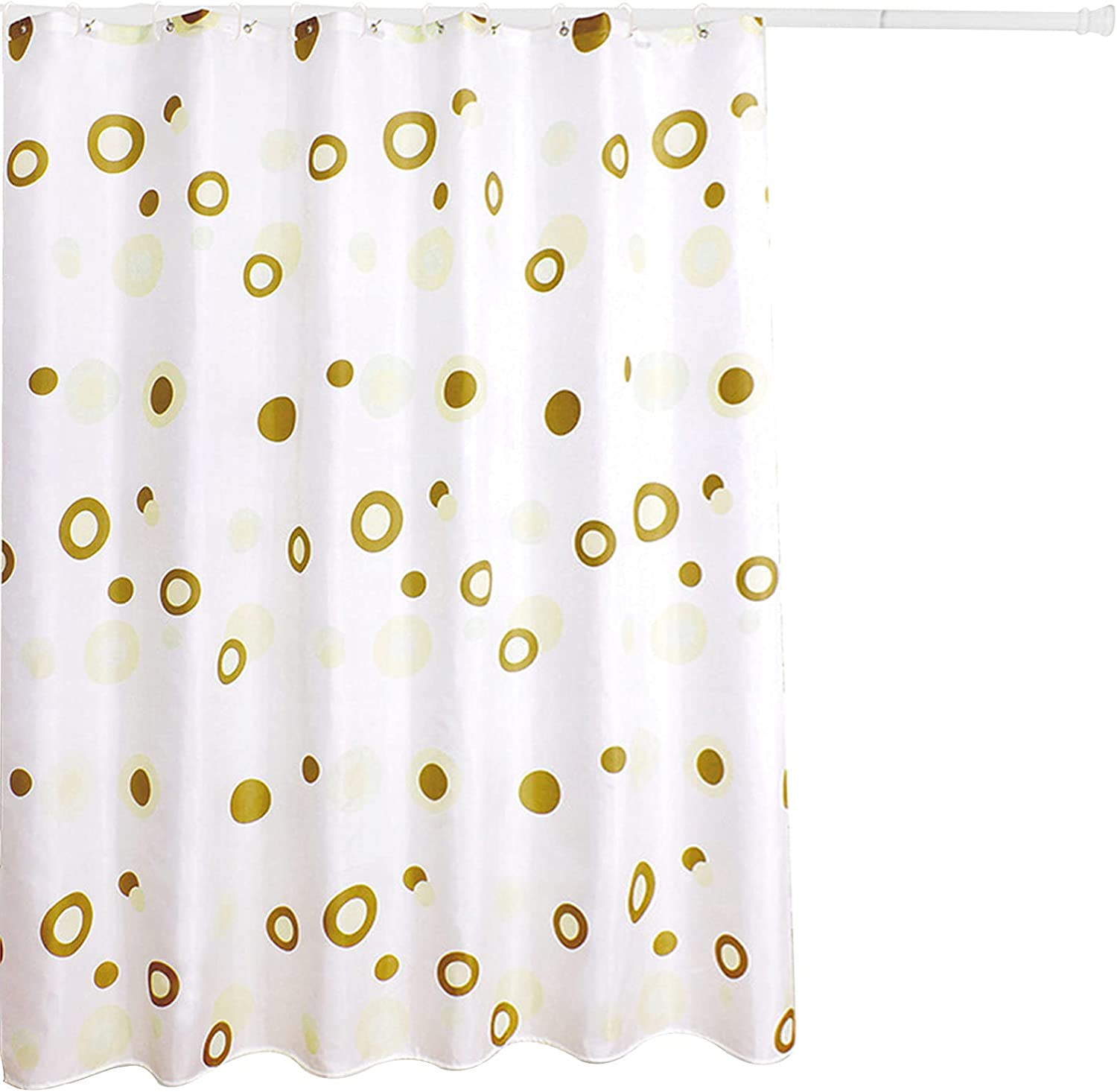 Shower Curtain Bathroom Polyester Topics on TV Quick-Drying Durable Don't miss the campaign