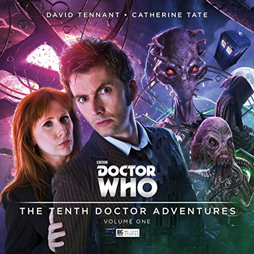Doctor Who - The 10th Doctor Adventures, Volume 1                   De :                                                                                                                                 Matt Fitton,                                                                                        Jenny T Colgan,                                                                                        James Goss                               Lu par :                                                                                                                                 David Tennant,                                                                                        Catherine Tate,                                                                                        Rachael Stirling,                   and others                 Durée : 2 h et 41 min     2 notations     Global 4,0