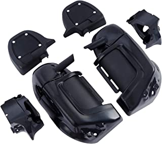 XFMT Unpainted Lower Vented Leg Fairings Glove Boxes For Harley Touring Road Electra Street Glide 1983-2013