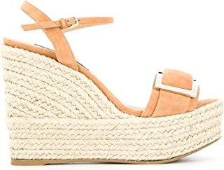 Luxury Fashion | Sergio Rossi Women A88860MCAZ012222 Brown Suede Wedges | Spring-summer 20