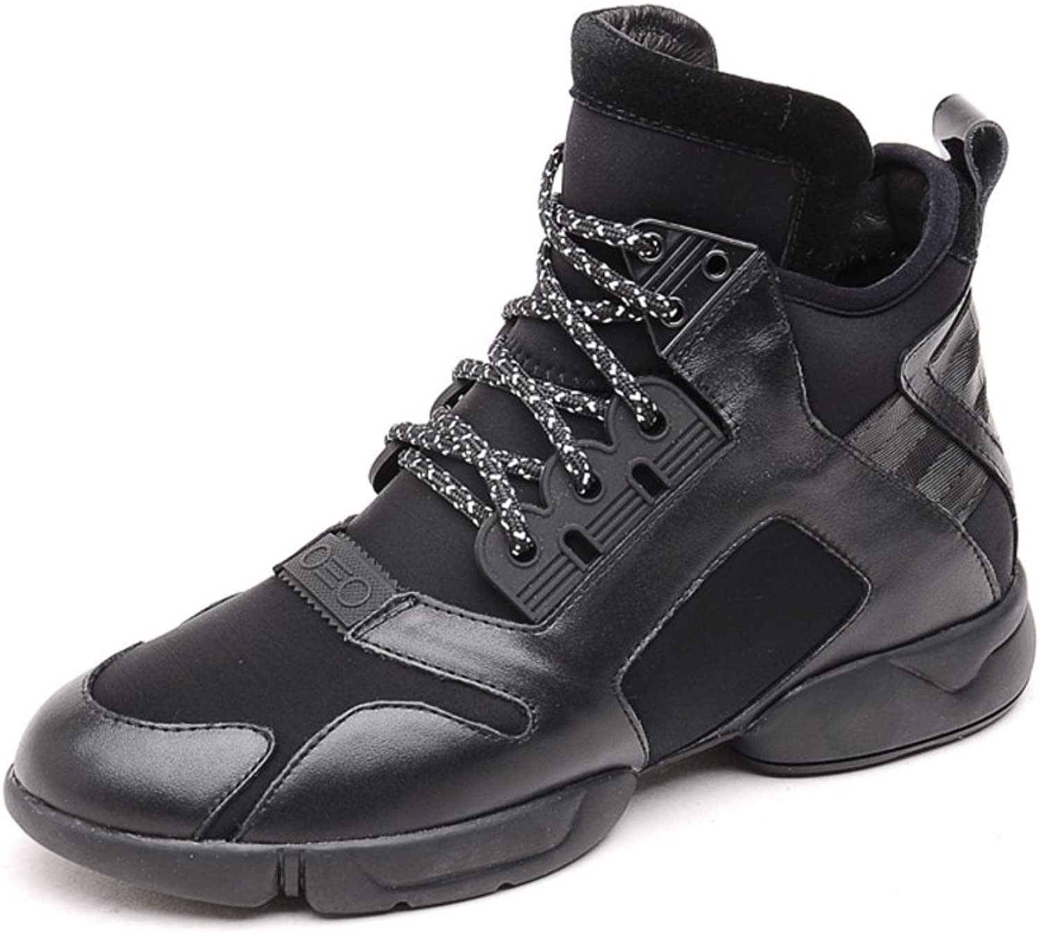 WLJSLLZYQ Spring of Spring Fashion shoes Casual Sport shoes Board shoes Round Tube in The Head Strap Sneakers