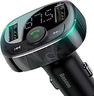 Baseus T typed S-09A Bluetooth MP3 car charger(Standard edition)Black