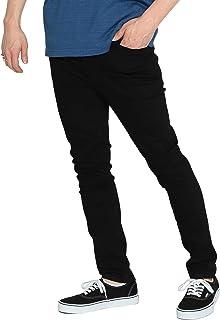 (ビームス)BEAMS/ロング デニムパンツ CHEAP MONDAY × BEAMS/別注 タイト ブラック メンズ
