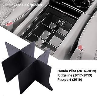 EDBETOS Center Console Organizer Insert for Honda Pilot 2016-2019 / Honda Ridgeline 2017-2019 / Honda Passport 2019 - Hond...