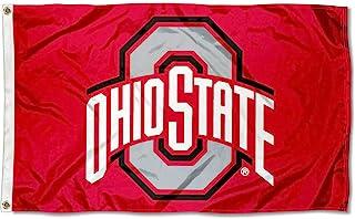 College Flags & Banners Co. Ohio State Flag OSU Buckeye Flag