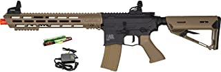 Valken ASL TANGO M4 6mm Airsoft Rifle Tan/Black w/Battery & Charger