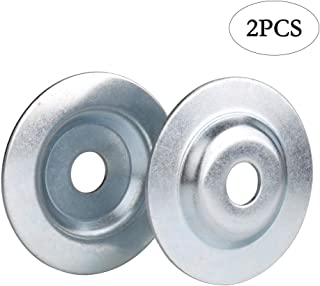 OD3-1/10'' x ID 5/8'' Bench Grinder Arbor Washer/Flange For Grinding/Wire Wheel,2PCS