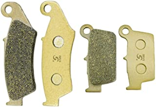 SYUU Motorcycle Replacement Front Rear Brake Pads Brakes for Yamaha YZ 125 YZ 250 YZ 450 2003 2004 2005 2006 2007 WR 250 WR 450 2003-2015 FA185F FA367R