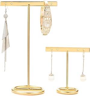 Best t bar earrings gold Reviews