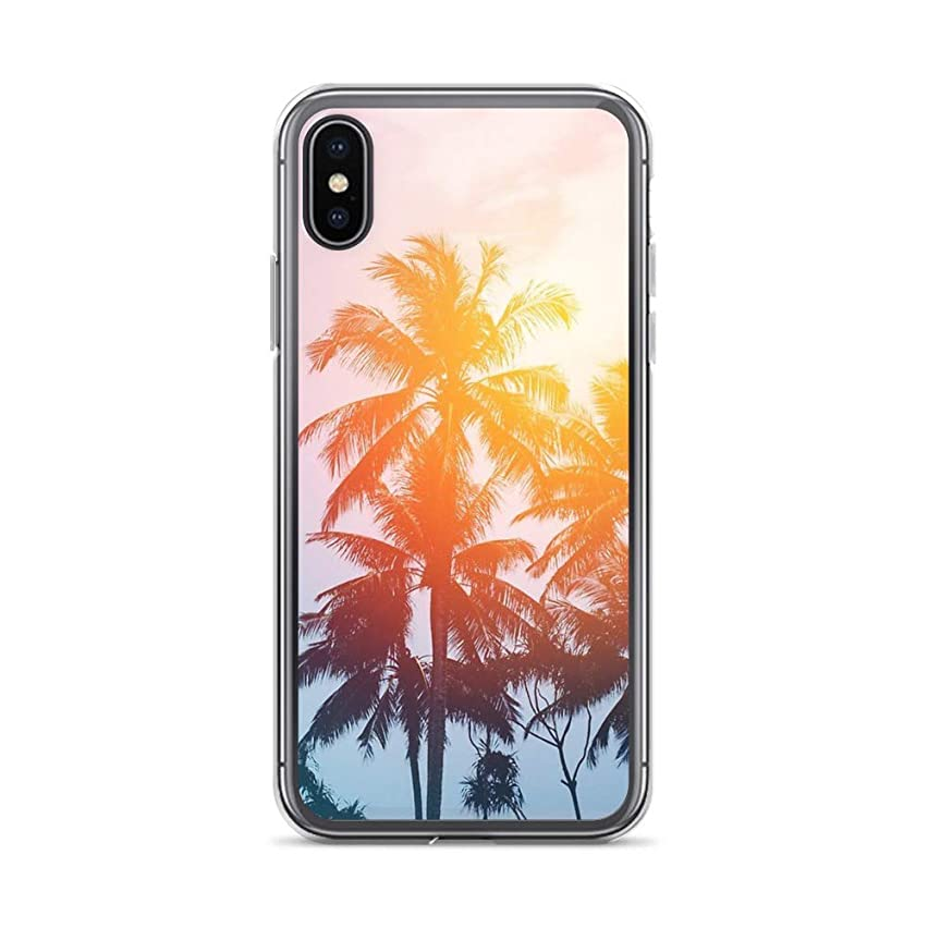iPhone X/XS Pure Clear Case Cases Cover Beach Sunset at The Coast line