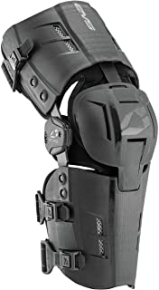 EVS Sports Men's Knee Brace (RS9 Pair) (Black, Medium), 2 Pack - RS9-BK-MP