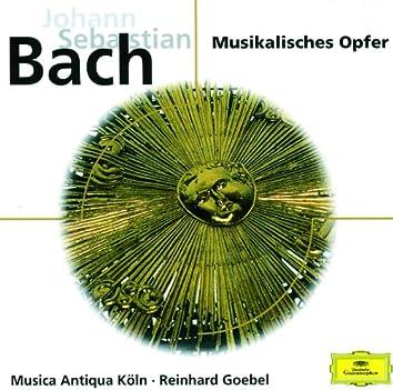 J. S. Bach: Musikalisches Opfer BWV 1079; Sonata No. 2 in Es BWV 1031 für Flöte und Cembalo; Sonate Nr. 3 in E BWV 1035 für Flöte und Basso Continuo