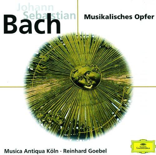 J.S. Bach: Musical Offering, BWV 1079 - 4d. Canon 4 a 2 per augmentationem, contrario motu