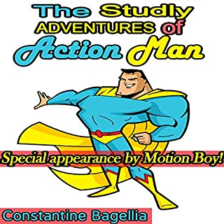The Studly Adventures of Action Man audiobook cover art