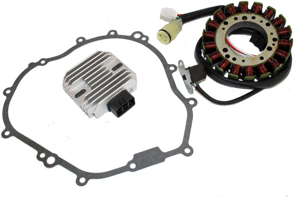 Caltric Stator Regulator Rectifier Wolv Spring new work one after another Baltimore Mall With Yamaha Compatible
