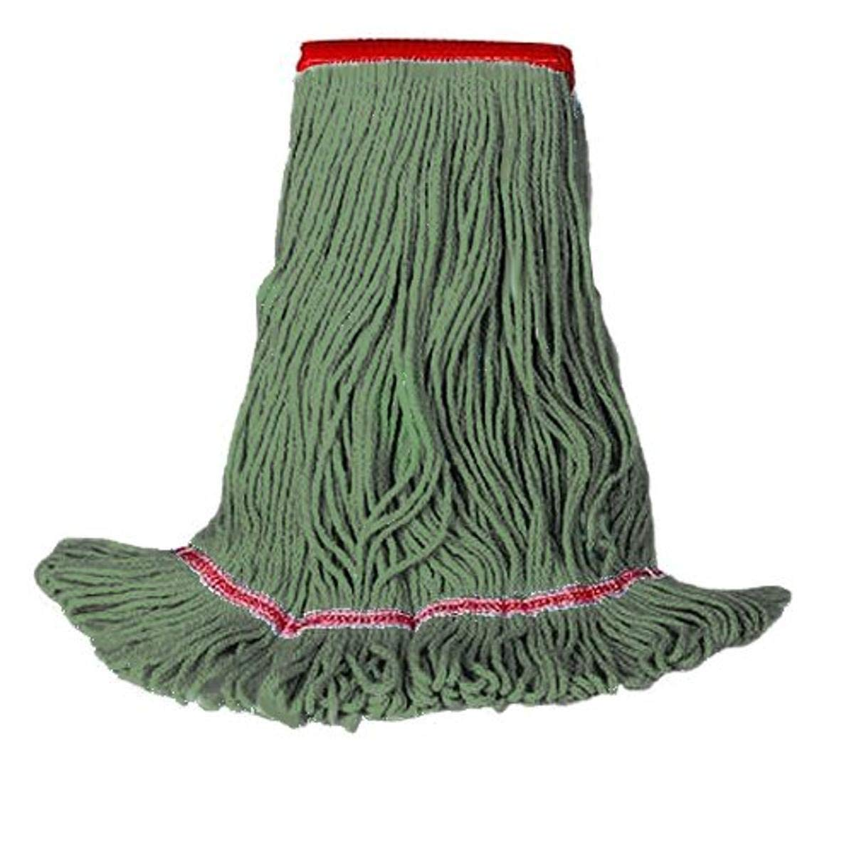 HUB Cheap mail order sales City Industries 80XLG NB Green Sale special price Looped Mops for Ready-Made Qu
