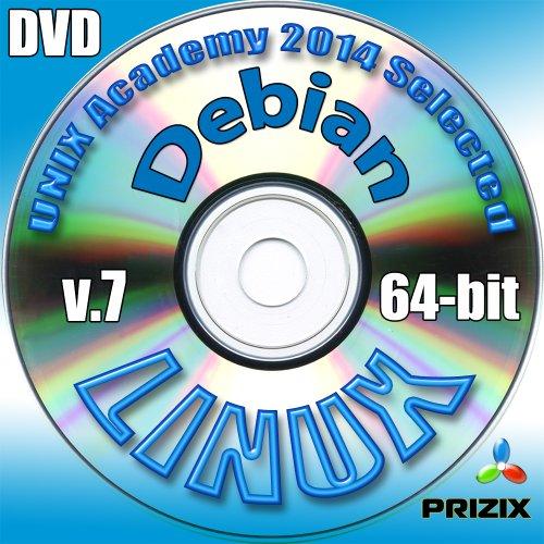 Debian 7 Linux DVD de 64 bits de instalación completo incluye exámenes...